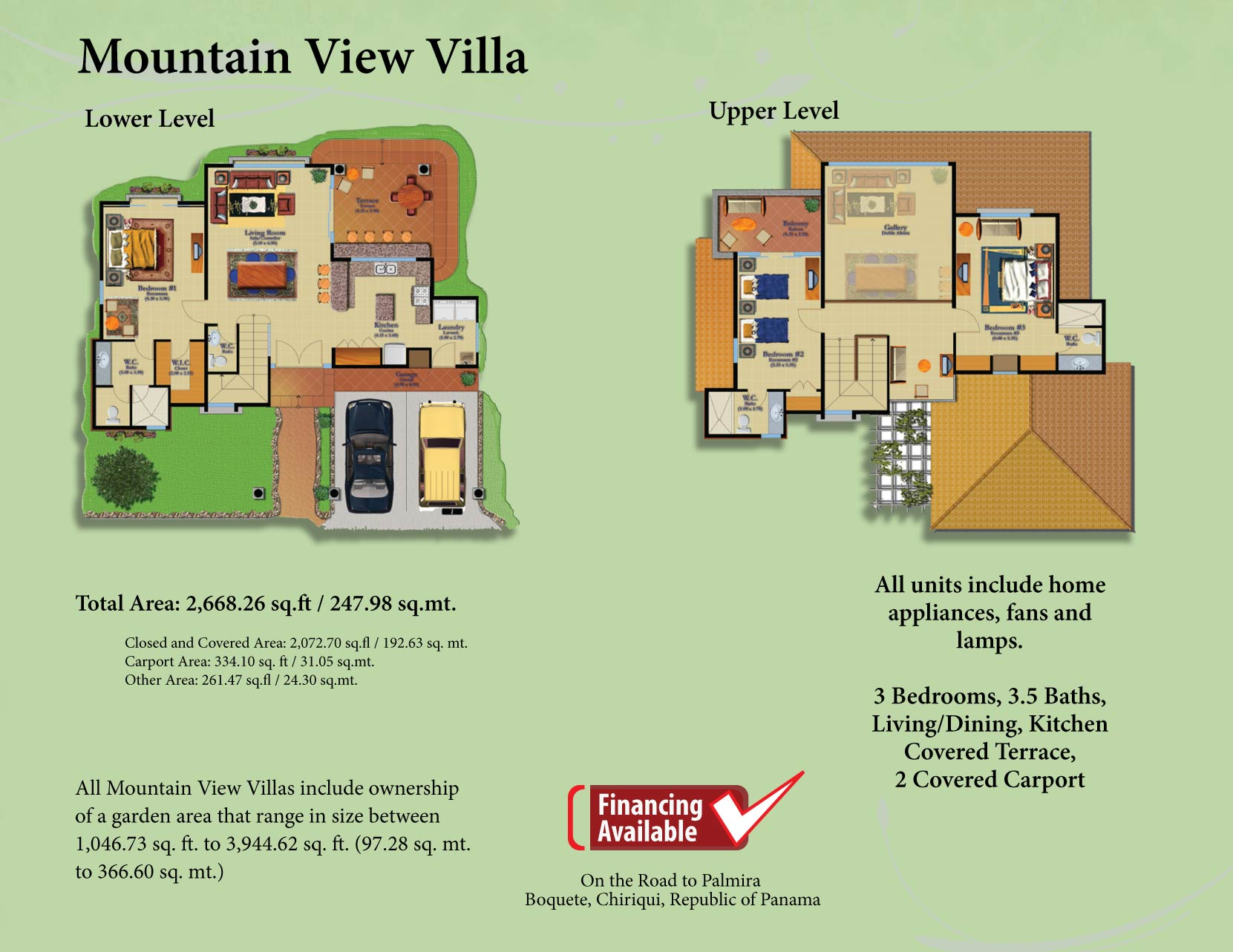 Mountain View Villa